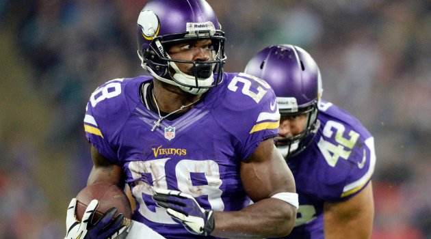 Adrian Peterson will play through his personal tragedy.