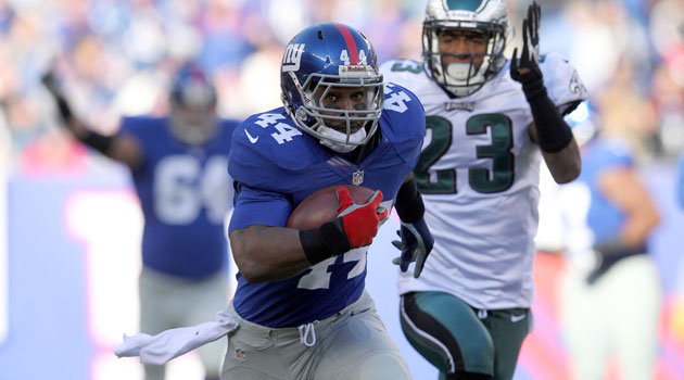 Ahmad Bradshaw is running to Indy. (USATSI)