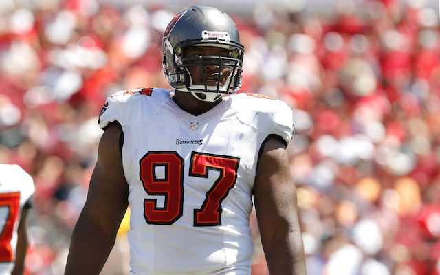 Buccaneers defensive tackle Akeem Spence was arrested on Tuesday. (USATSI)