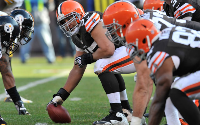 Jimmy Haslam thinks Alex Mack will be with the Browns in 2014.