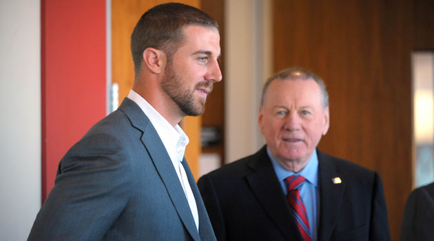 Alex Smith is optimistic that the Chiefs can 'win now'. (USATSI)