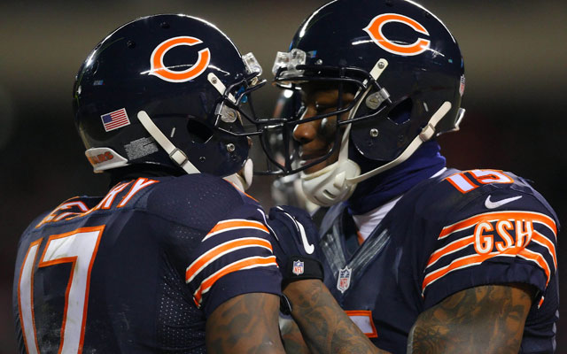 reputable site 4bc50 b817f Alshon Jeffery: Bears WR combo the NFL's 'two best receivers ...
