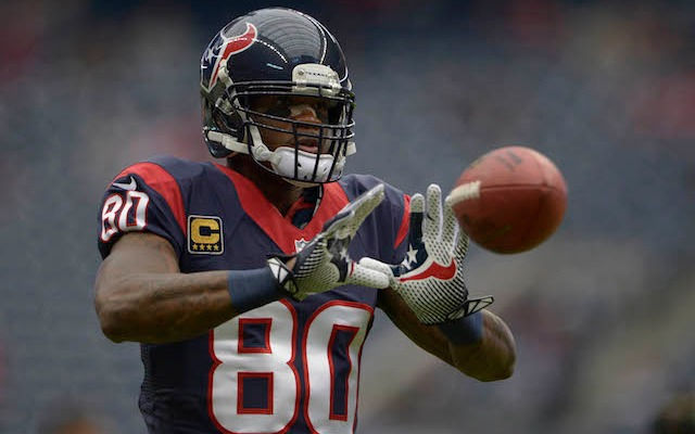 Does Andre Johnson want out of Houston? (USATSI)
