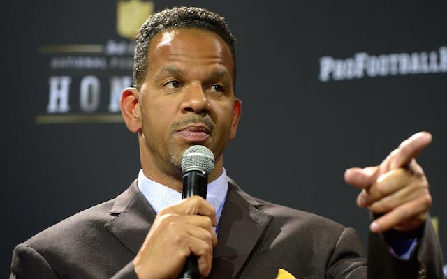 Andre Reed doesn't seem to be a big fan of Johnny Manziel. (USATSI)