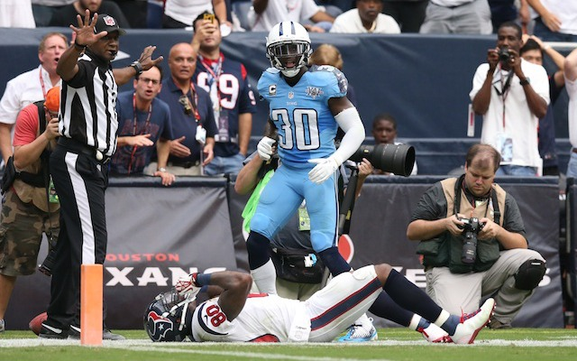 Andre Johnson's cleared for Week 3 after suffering a concussion in Week 2. (USATSI)