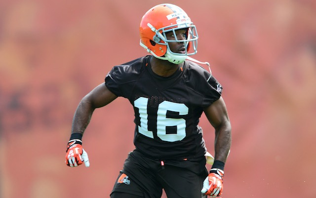 Andrew Hawkins does not know where LeBron James is signing. (USATSI)