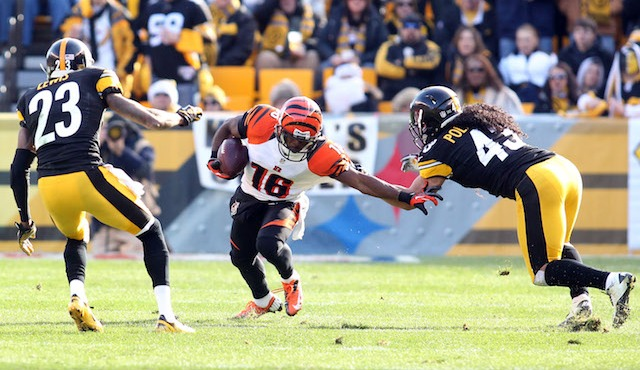 Andrew Hawkins reportedly is returning to Cincinnati. (USATSI)