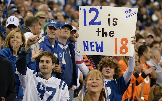Twelve is almost the new 18. Andrew Luck is one spot behind Peyton Manning on the MVP Projection list. (USATSI)