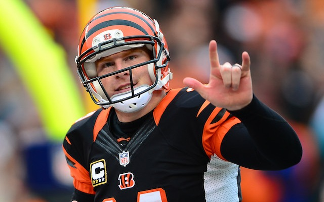Andy Dalton plans on being in Cincinnati for a 'long time.' (USATSI)