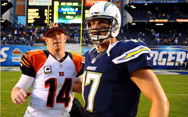 NFL fans in Cincinnati may not get to see these two guys play on Sunday. (USATSI)