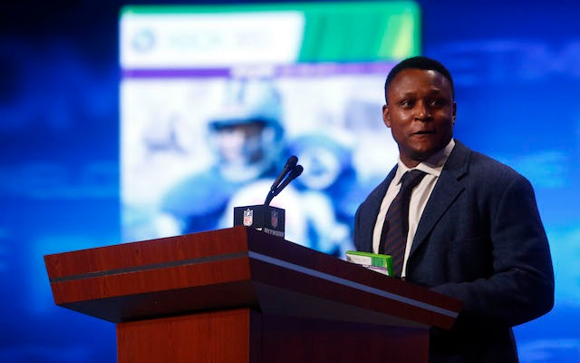 Barry Sanders didn't even try to beat the Madden curse, instead he just retired. (USATSI)