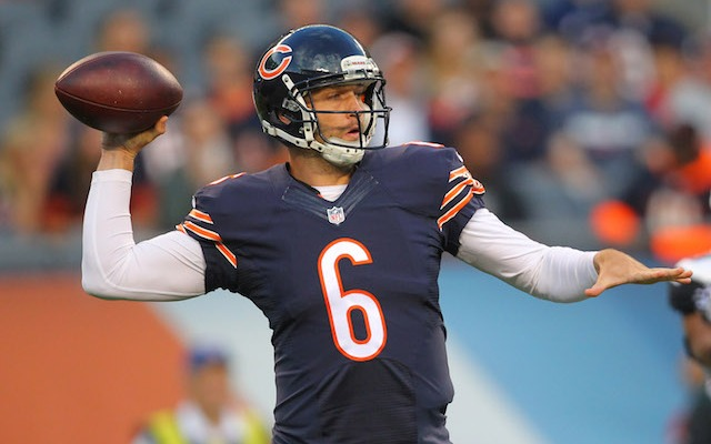 Jay Cutler thinks Jordan Palmer might spill a few of the Bears' secrets. (USATSI)