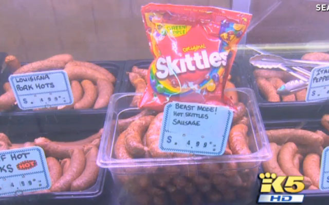 Beast Mode Spicy Skittles Sausage is a thing.