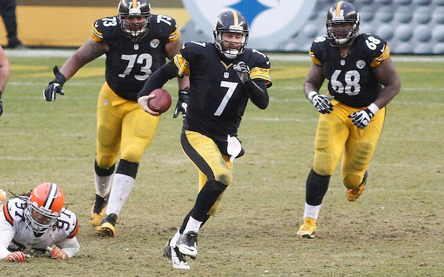 Ben Roethlisberger thinks he can get another seven NFL seasons out of his arm and legs. (USATSI)
