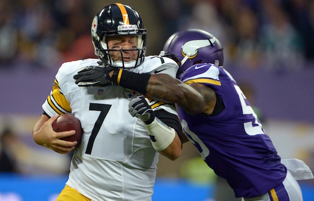 Ben Roethlisberger thinks the 0-4 Steelers might be the worst team in the NFL. (USATSI)