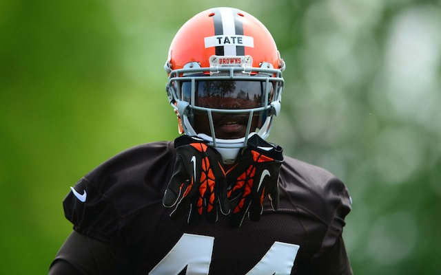 Ben Tate thinks the Johnny Manziel coverage is a little out of control. (USATSI)