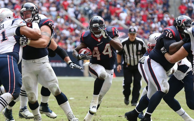 Houston running back Ben Tate might have played his last game in a Texans uniform. (USATSI)