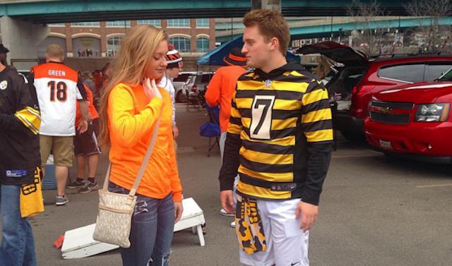 Steelers fans will be taking over Cincinnati on Saturday. (Instagram/Lauren_Stevens6)