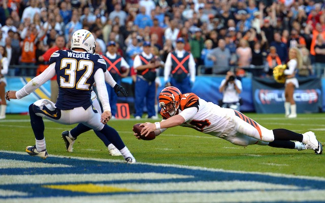 Apparently Charger fans aren't excited about seeing Andy Dalton and the Bengals again. (USATSI)