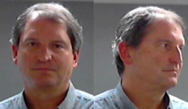 The mugshot of former Cleveland Browns quarterback Bernie Kosar. (Mugshot)