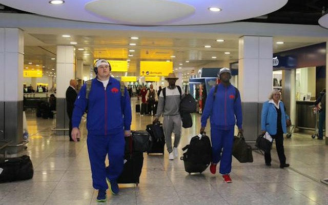 LOOK: The Buffalo Bills are in London and half the team is injured