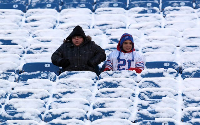 Ralph Wilson Stadium in Buffalo could be pretty empty on Sunday. (USATSI)