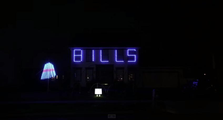 Clark Griswold is a Bills fan apparently.