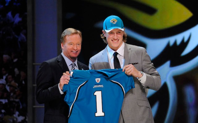 The Jaguars probably wish they could have this pick back. (USATSI)
