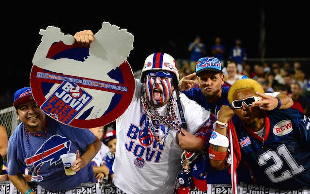It looks like Buffalo is officially a Bon Jovi-free zone. (USATSI)