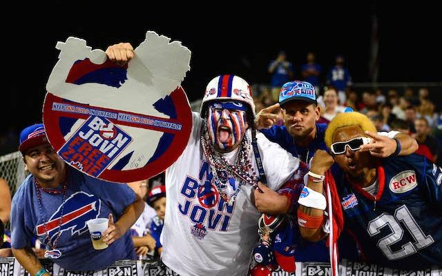 Jon Bon Jovi is not a popular guy in Buffalo. (USATSI)