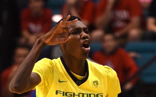 Chris Boucher will have the opportunity to play for Oregon next year. (USATSI)