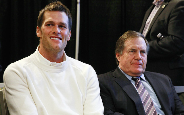 Tom Brady and Bill Belichick have some serious money waiting for them. (USATSI)