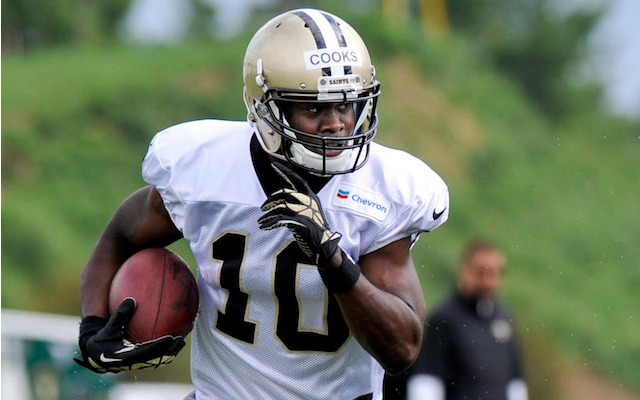 Brandin Cooks is probably faster than you. (USATSI)