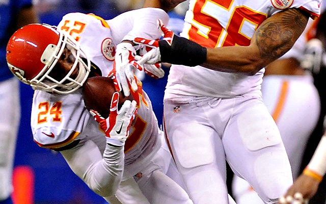 Chris Houston is no longer a member of the Chiefs. (USATSI)