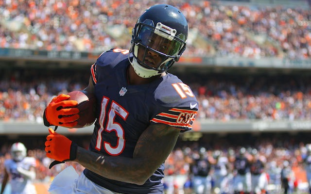 official photos f7322 eff1f Bears WR Brandon Marshall bashes ESPN on Twitter for 'lying ...