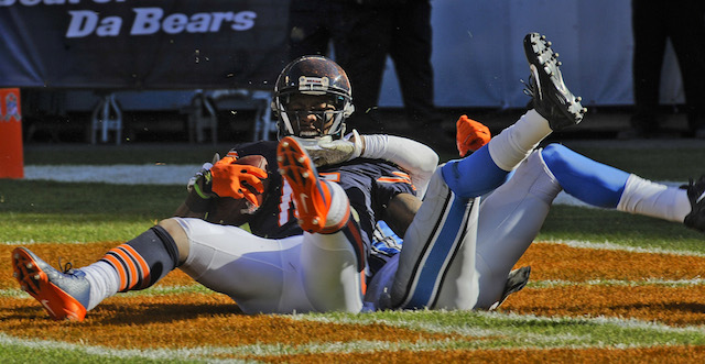 Brandon Marshall thinks the Lions playing tactics are 'borderline illegal.' (USATSI)