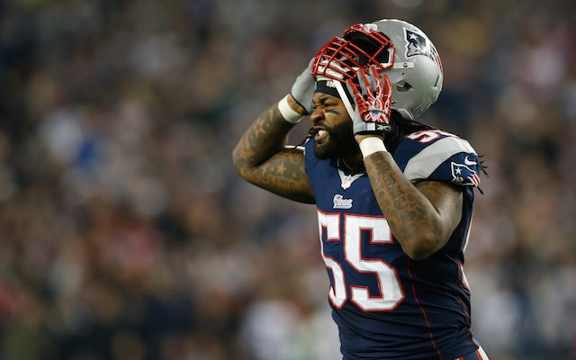 Brandon Spikes probably won't be making any Twitter bets anytime soon. (USATSI)