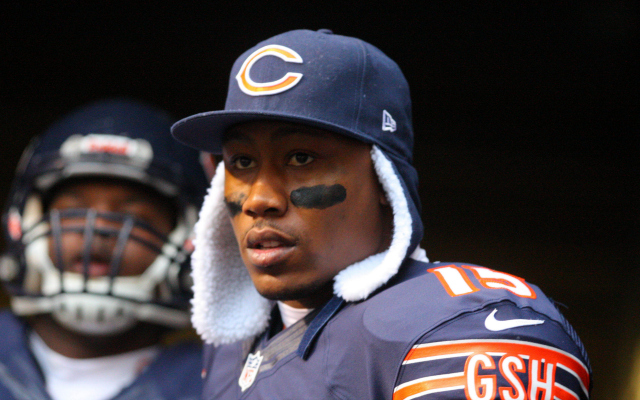 Brandon Marshall says Jay Cutler will be back with the Bears in 2014.