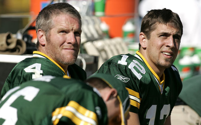 Aaron Rodgers thinks it's 'important' to retire Brett Favre's jersey.