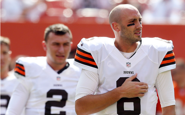 ee113322 Brian Hoyer was mad when he found out Johnny Manziel would play ...