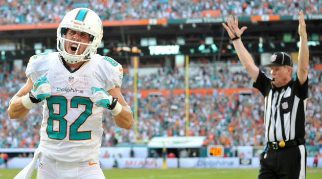 Brian Hartline had some strong words on the Dolphins situation.