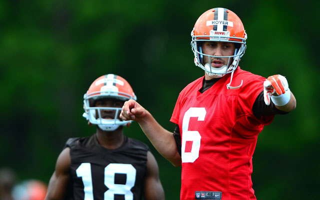 The Browns and Brian Hoyer are reportedly talking about an extension.