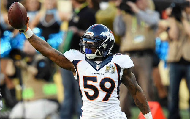 Danny Trevathan says the Broncos field the best defense ever. (USATSI)