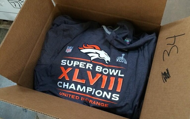 This will probably be the first and only time you see this Broncos t-shirt b7f647269