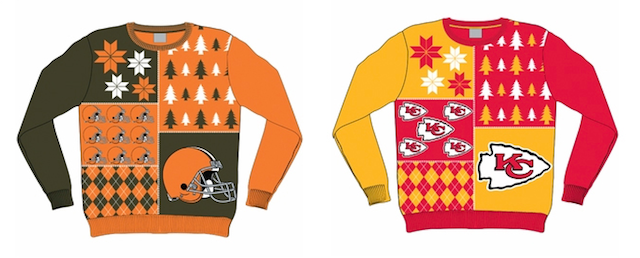These sweaters will immediately spice up any Christmas party. (Forever Collectibles)