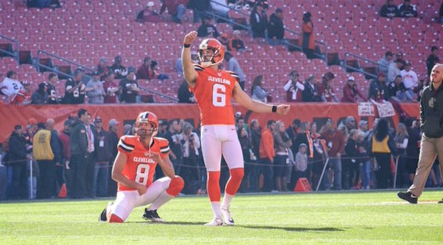LOOK: Browns wearing orange jerseys for first time in 11 years ...