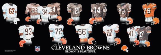 Wholesale LOOK: Browns unveil new uniforms for 2015