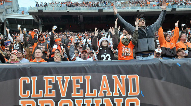 Browns fans are a pretty crazy bunch. (USATSI)