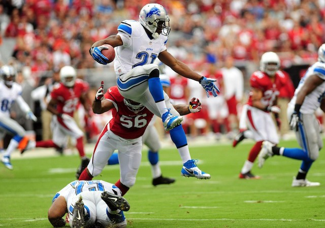 Reggie Bush should be jumping back into the Lions lineup on Sunday. (USATSI)
