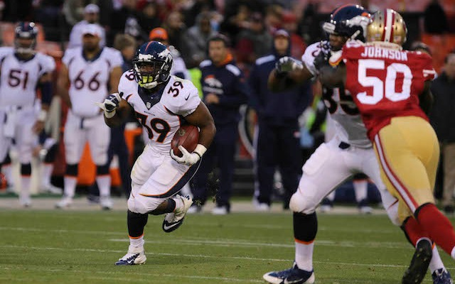 C.J. Anderson had a strong preseason in 2013 before straining his MCL. (USATSI)